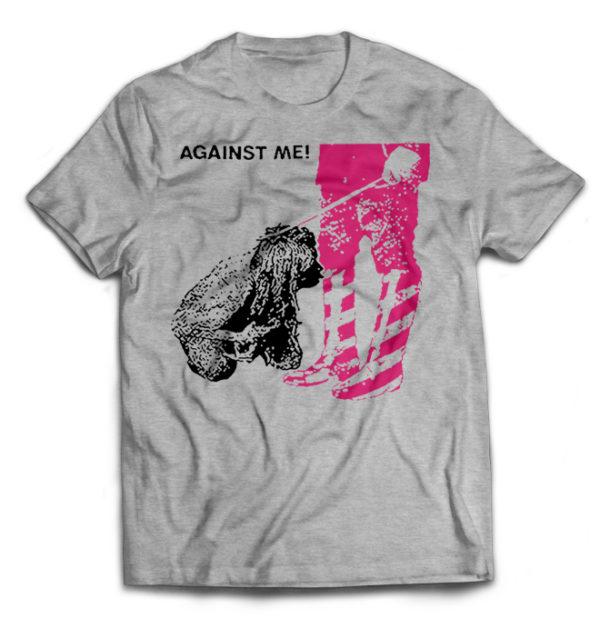 футболка серая Against Me