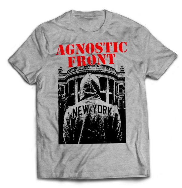 футболка серая Agnostic Front