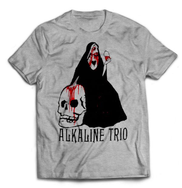 футболка серая Alkaline trio