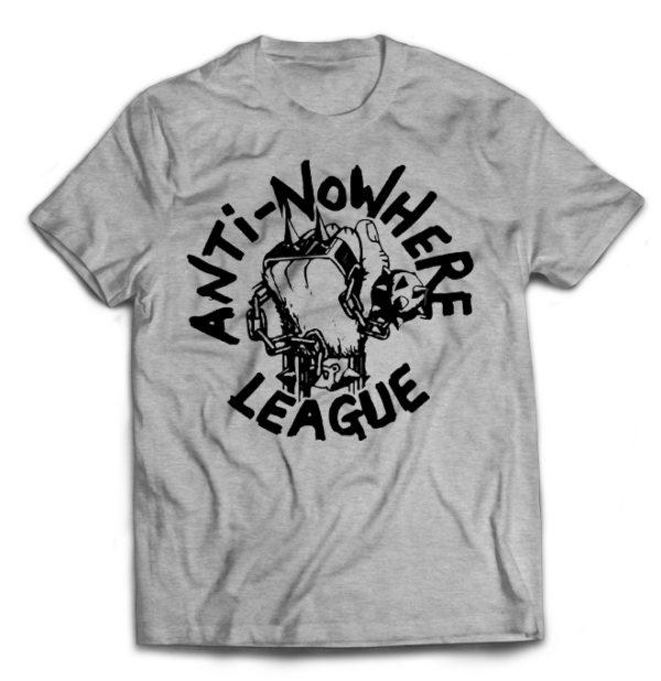 футболка серая Anti Nowhere League