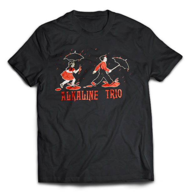 футболка Alkaline trio