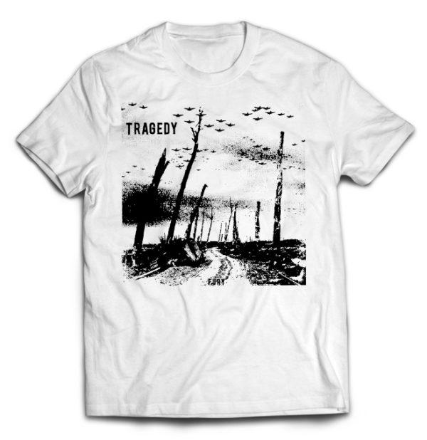 футболка белая Tragedy