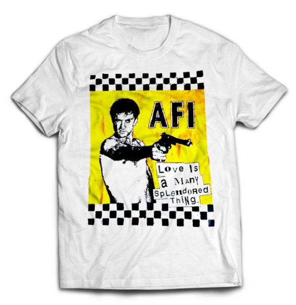 футболка белая AFI