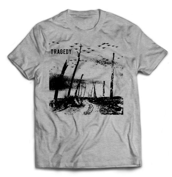 футболка серая Tragedy