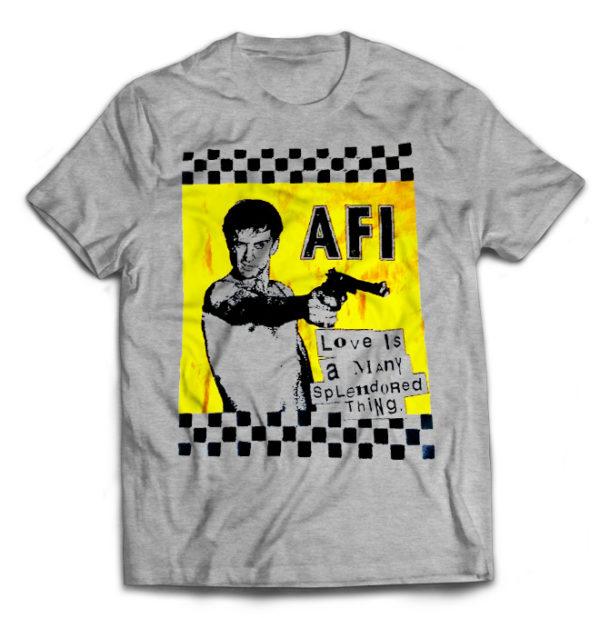 футболка серая AFI