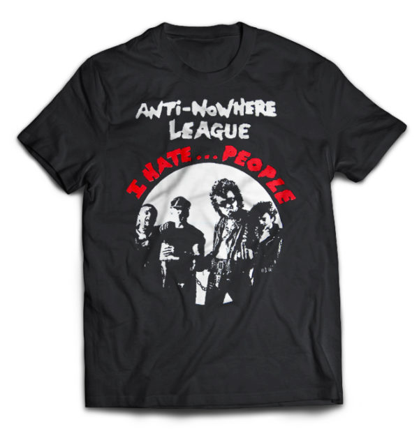 футболка Anti Nowhere League