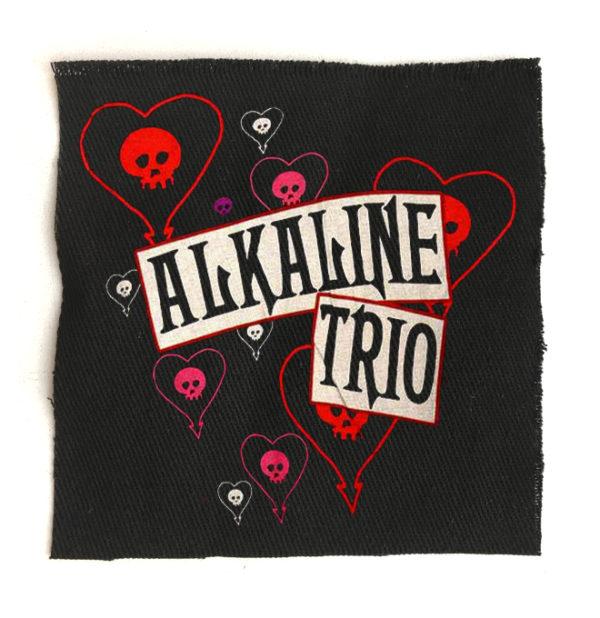нашивка Alkaline trio