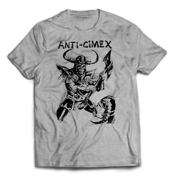 футболка серая Anti-Cimex