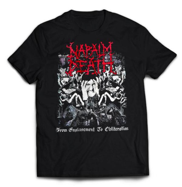 футболка Napalm Death