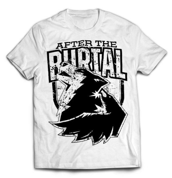футболка белая After The Brutal