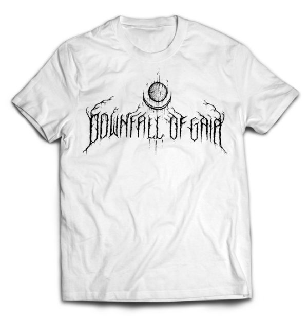 футболка белая Downfall Of Gaia