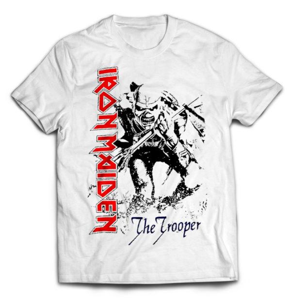 футболка белая Iron Maiden