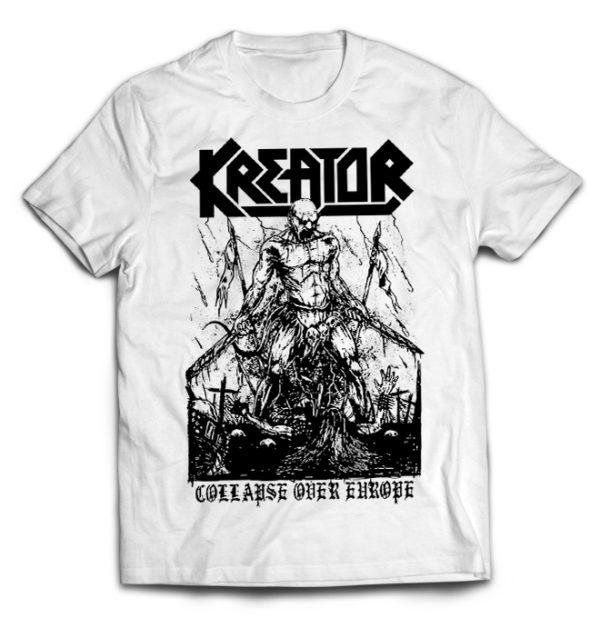 футболка белая Kreator