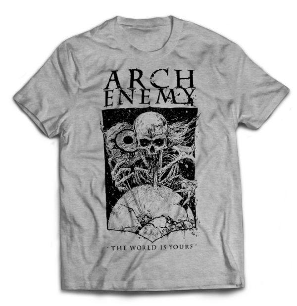 футболка серая Arch Enemy