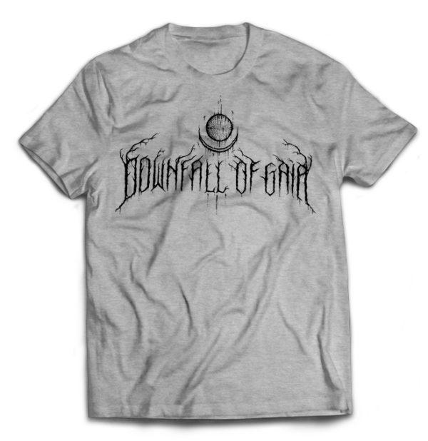 футболка серая Downfall Of Gaia