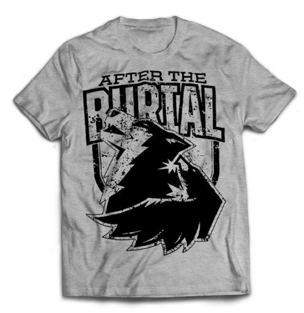 футболка серая After The Brutal