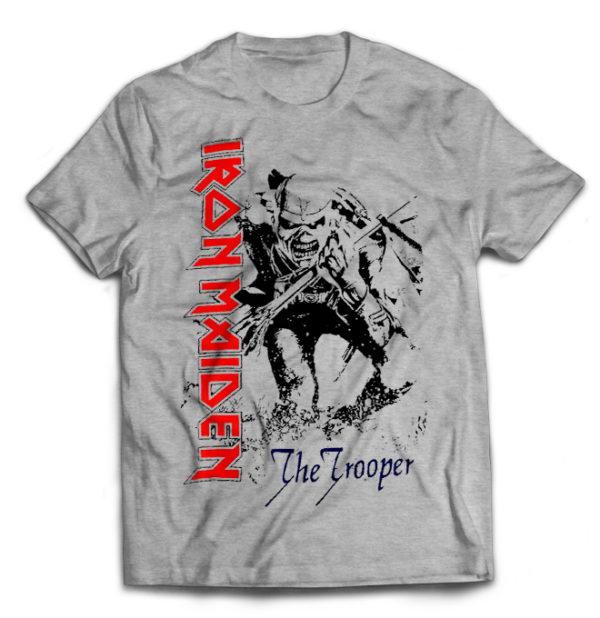 футболка серая Iron Maiden