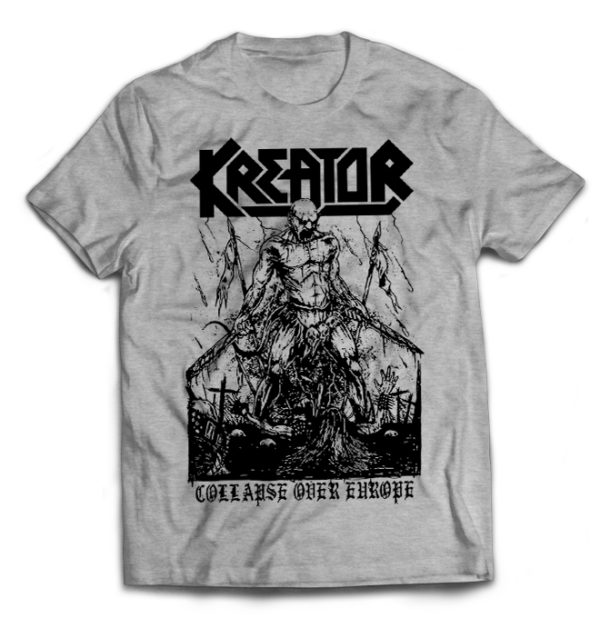 футболка серая Kreator