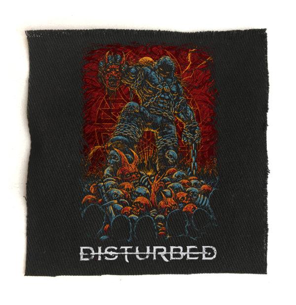 нашивка Disturbed