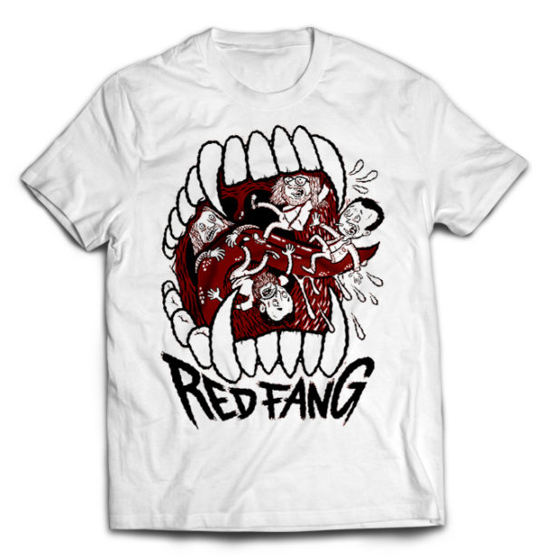 футболка белая Red Fang