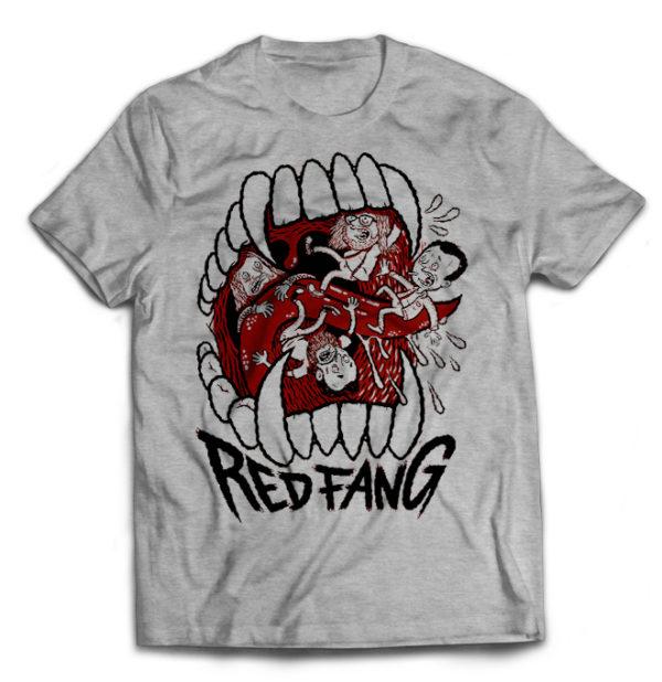футболка серая Red Fang