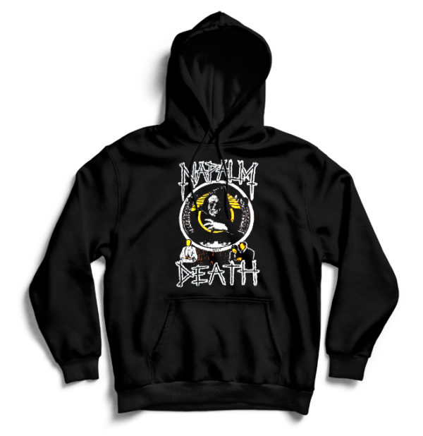 худи Napalm Death