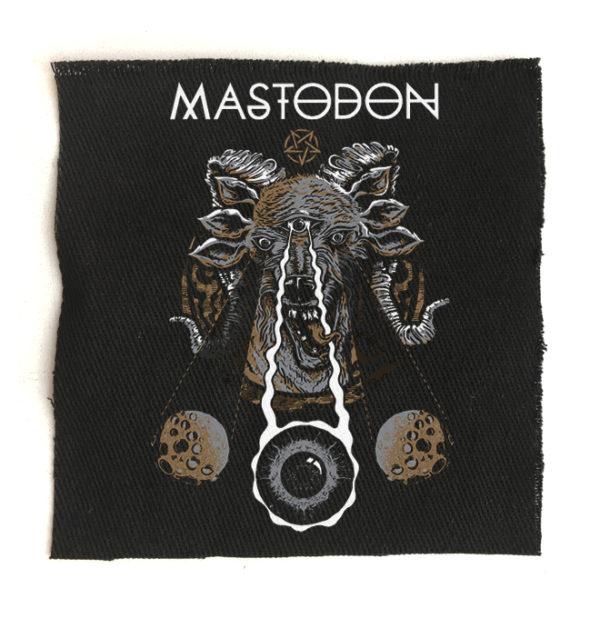 нашивка Mastodon