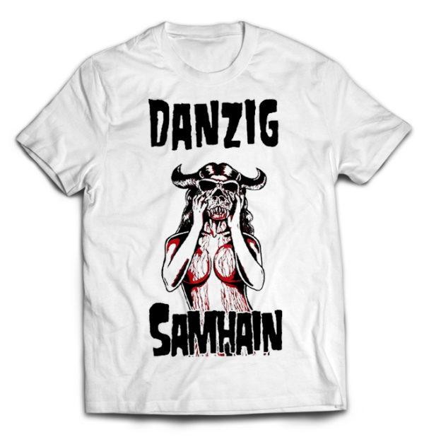 футболка белая Danzig