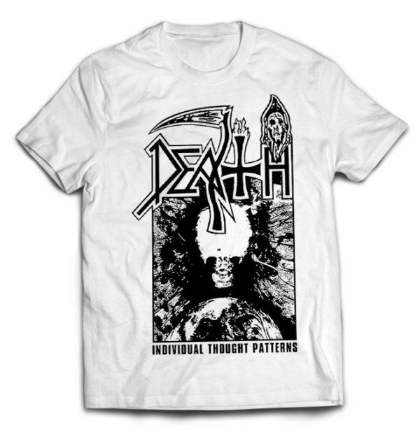 футболка белая Death