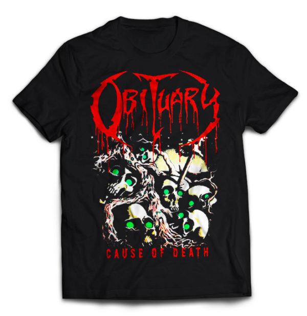 футболка Obituary