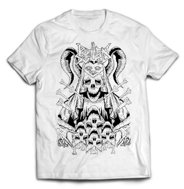 футболка белая Rotten Sound