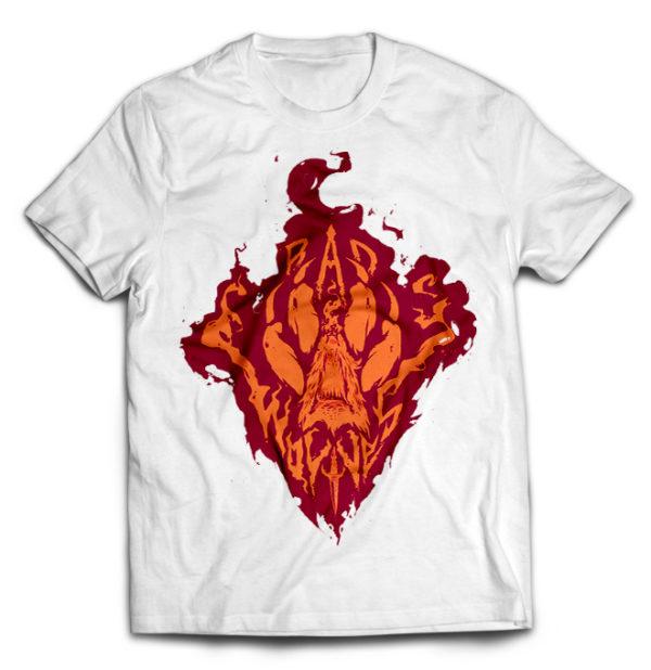 футболка белая Bad Wolves