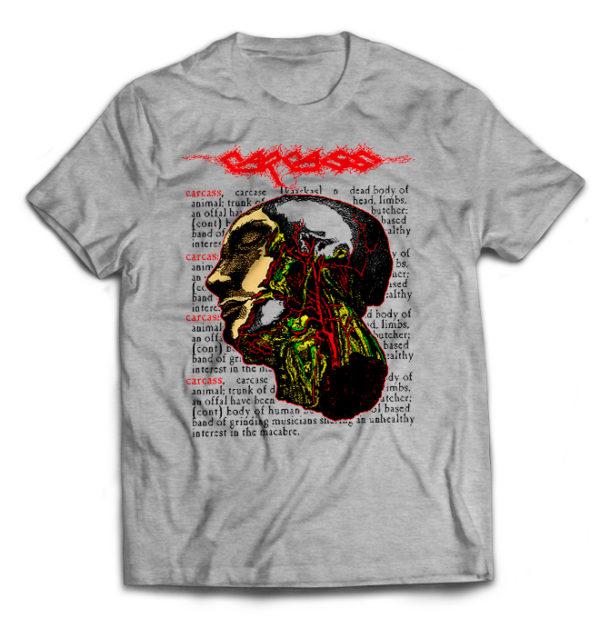 футболка серая Carcass