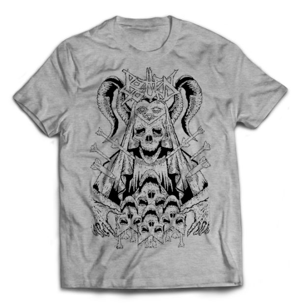 футболка серая Rotten Sound