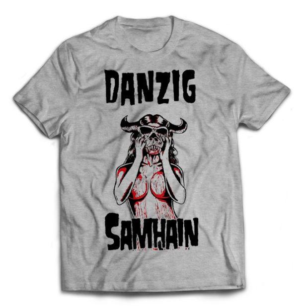 футболка серая Danzig