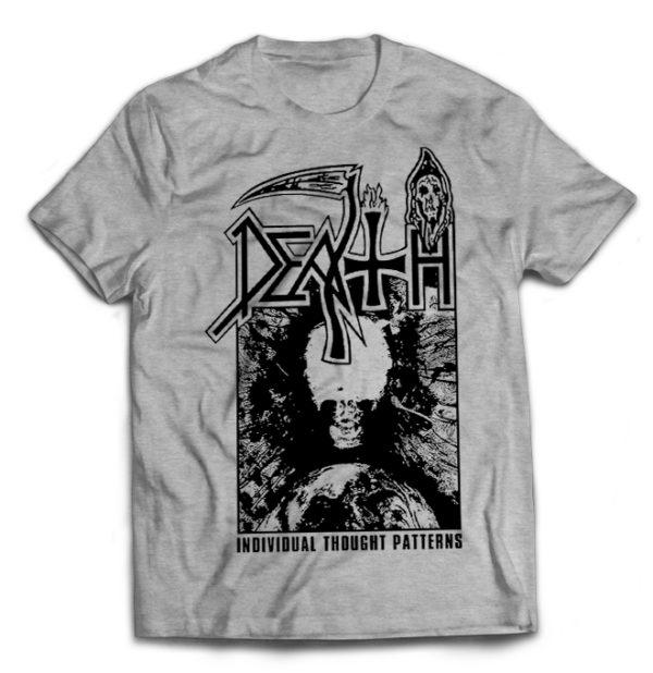 футболка серая Death