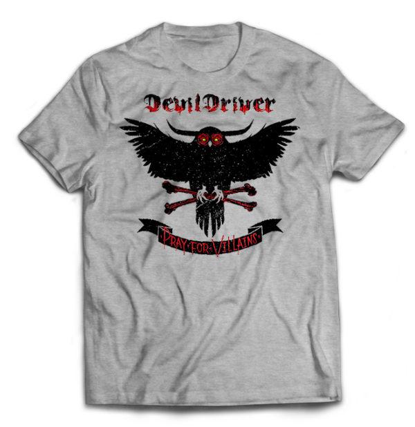 футболка серая DevilDriver
