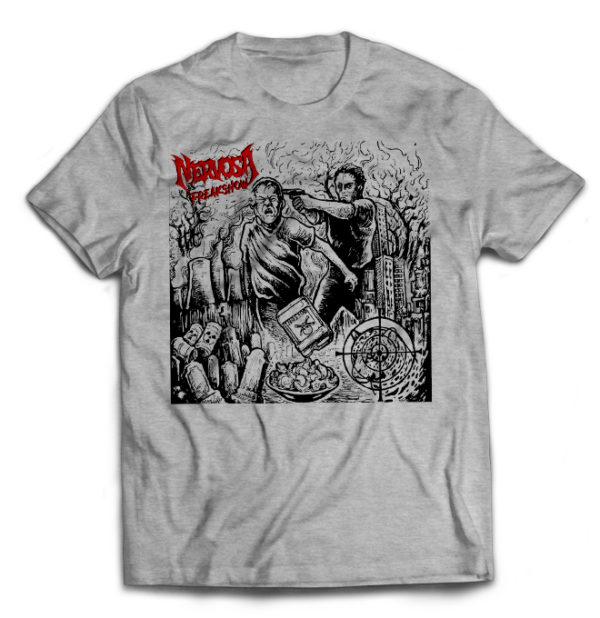 футболка серая Nevrosa