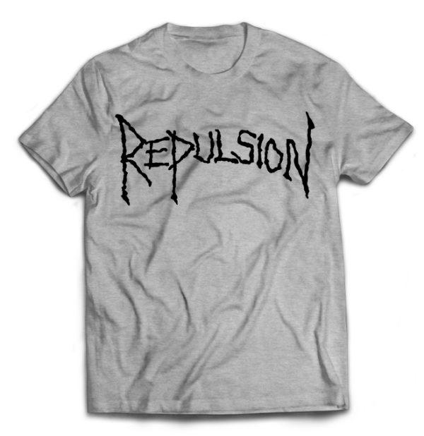 футболка серая Repulsion