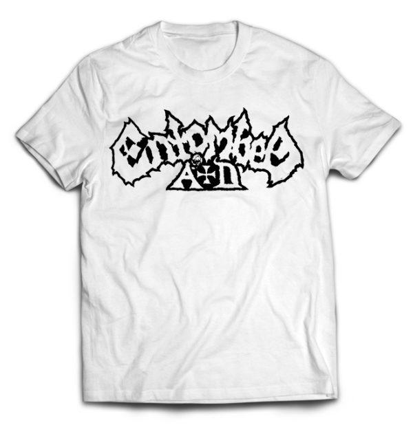 футболка белая Entombed