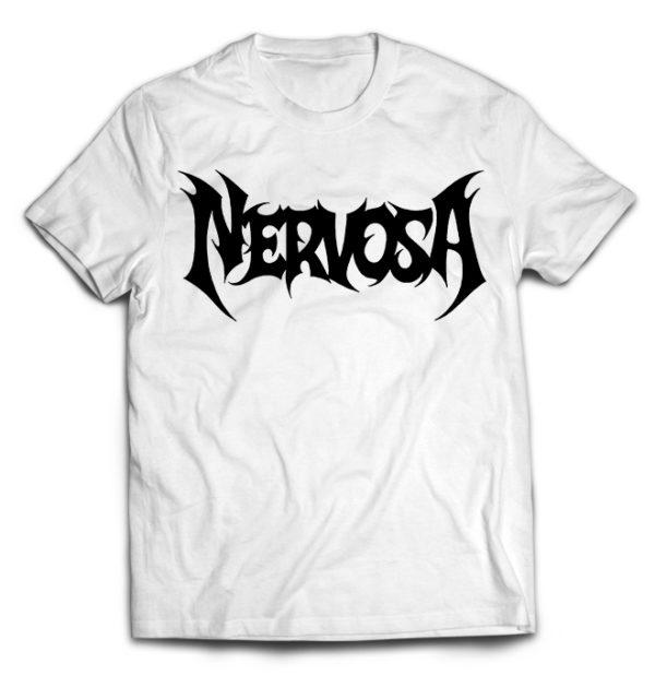 футболка белая Nevrosa