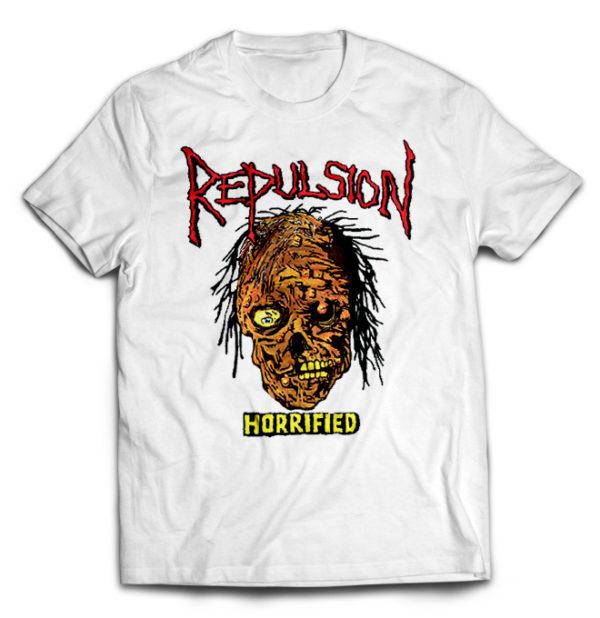 футболка белая Repulsion