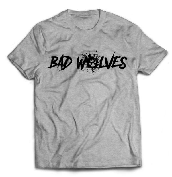 футболка серая Bad Wolves