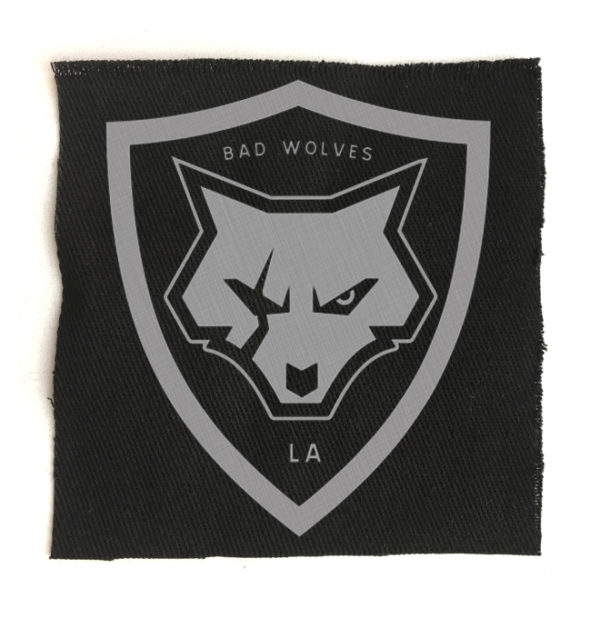 нашивка Bad Wolves