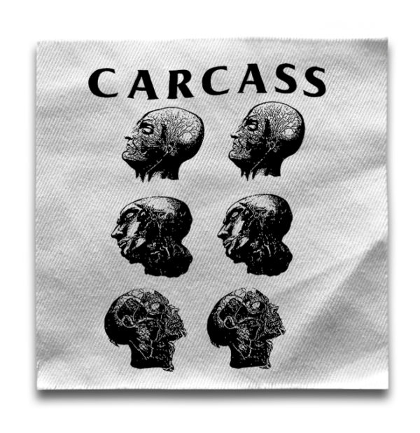 нашивка Carcass