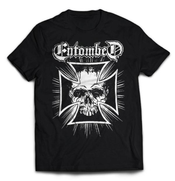 футболка Entombed