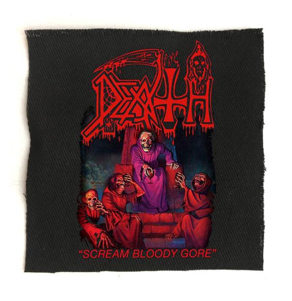 нашивка Death