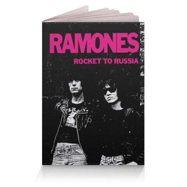 Обложка на паспорт Ramones